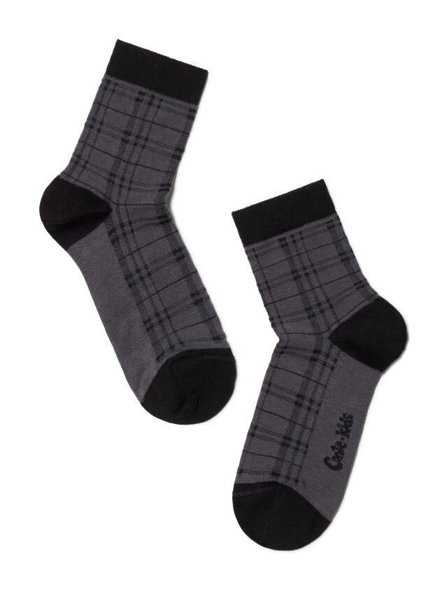 Children's socks CONTE-KIDS TIP-TOP, s.20, 196 dark grey - 1