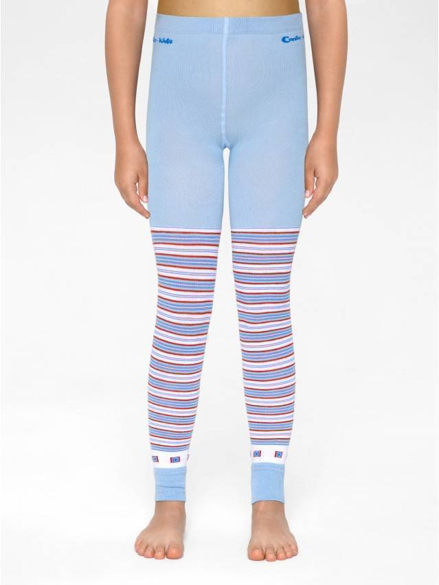 Leggings for girls CONTE-KIDS VIVA, s.128-134, 007 blue - 1