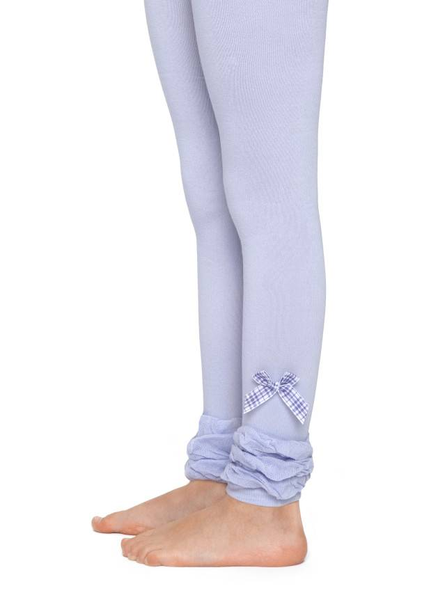 Leggings for girls CONTE-KIDS VIVA, s.128-134, 000 lilac - 1