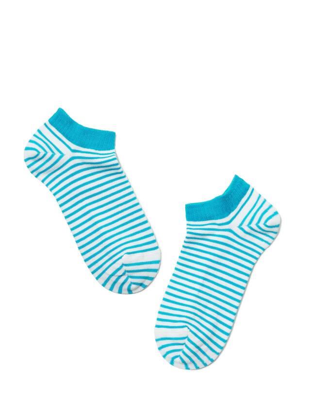 Women's socks CONTE ELEGANT ACTIVE, s.23, 073 white-turquoise - 2