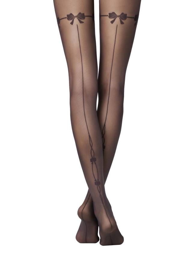 Women's tights CONTE ELEGANT MISTERY, s.2, nero - 1