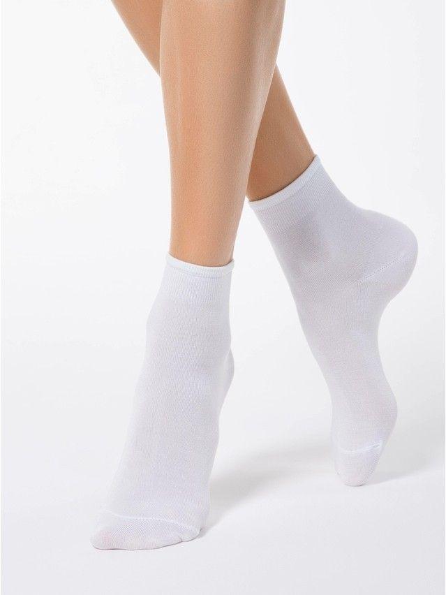 Women's socks CONTE ELEGANT BAMBOO, s.23, 000 white - 1