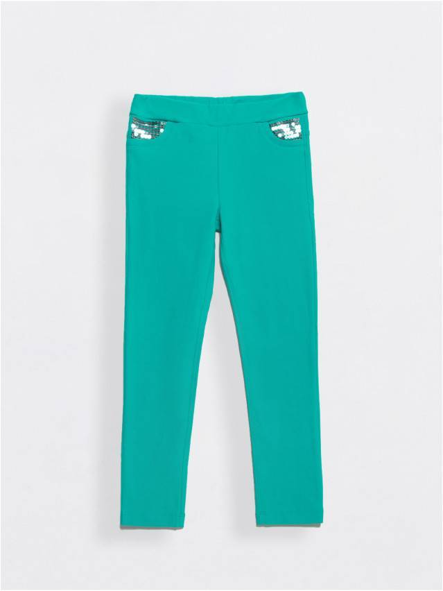 Leggings for girls CONTE ELEGANT PINA, s.110,116-56, green - 1