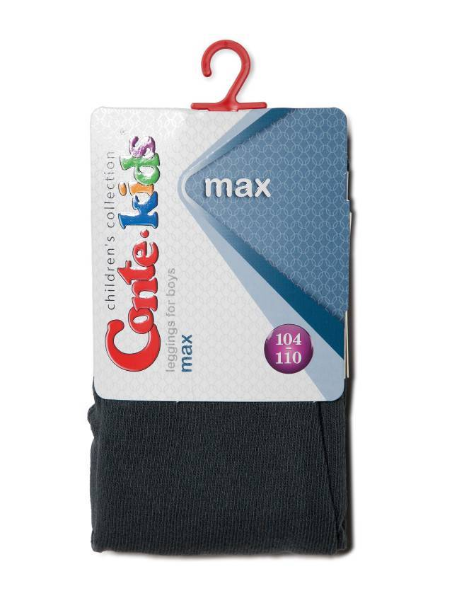 Leggings for boys CONTE-KIDS MAX, s.104-110, 000 dark grey - 3