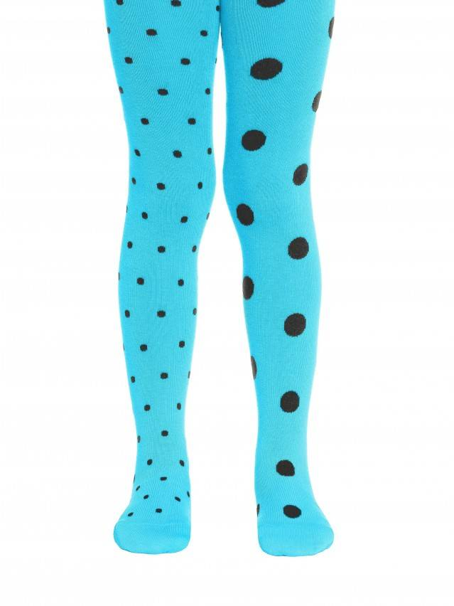 Children's tights CONTE-KIDS TIP-TOP, s.116-122 (18),406 turquoise - 1