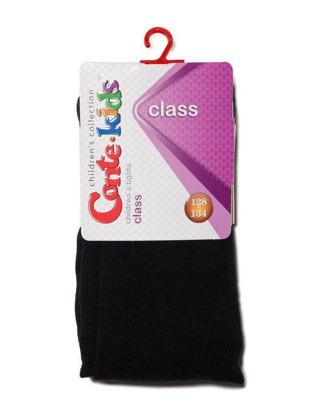 Children's tights CONTE-KIDS CLASS, s.128-134 (20),192 black - 2