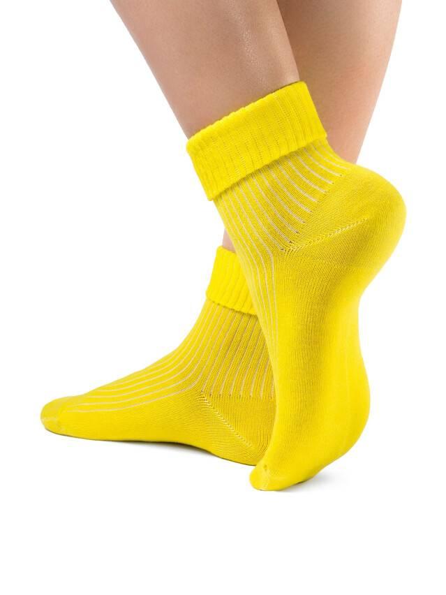 Women's socks CONTE ELEGANT CLASSIC, s.23, 013 yellow - 1