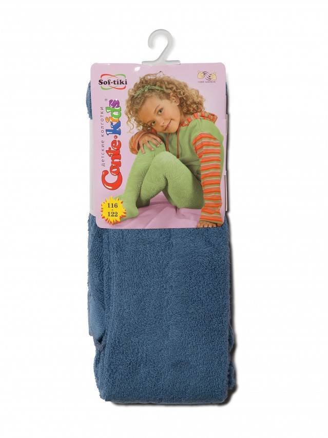 Children's tights CONTE-KIDS SOF-TIKI, s.116-122 (18),342 denim - 2