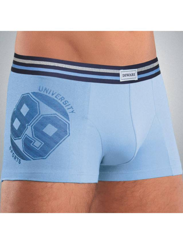 Men's pants DiWaRi TATTOO MSH 429, s.102,106/XL, blue - 1