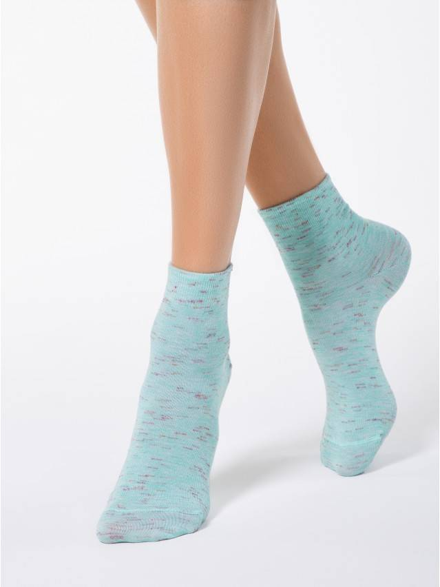 Women's socks CONTE ELEGANT COMFORT, s.23, 000 pale turquoise - 1
