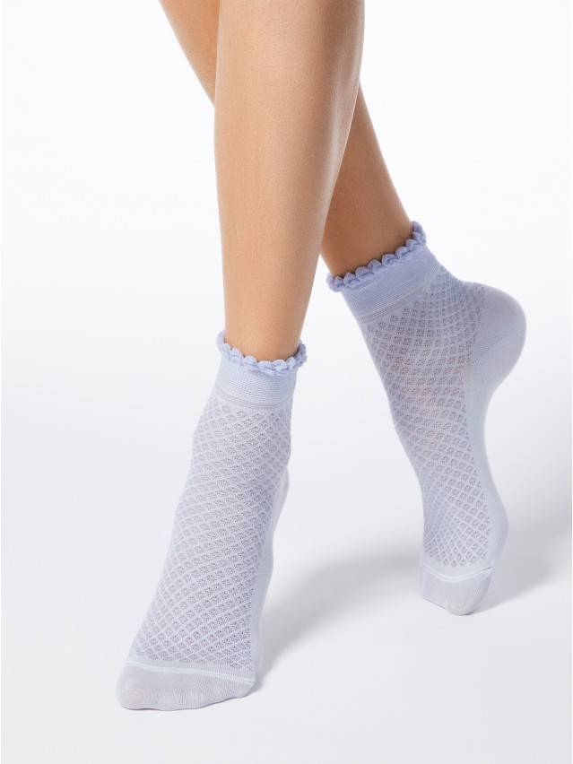 Women's socks CONTE ELEGANT CLASSIC, s.23, 055 pale violet - 1