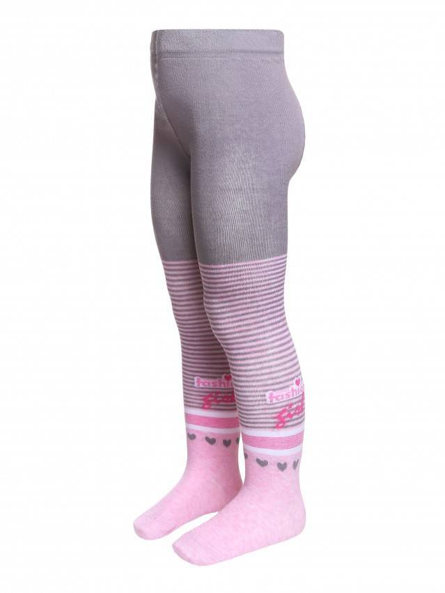 Children's tights CONTE-KIDS TIP-TOP, s.104-110 (16),400 light pink - 1