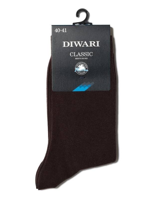 Men's socks DiWaRi CLASSIC, s. 40-41, 000 dark brown - 2