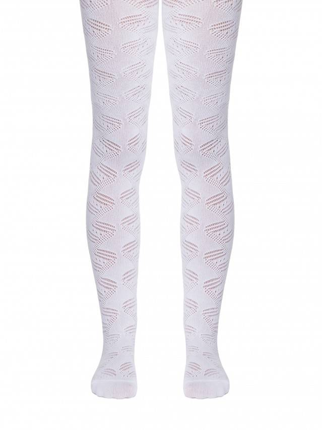 Children's tights CONTE-KIDS MISS, s.116-122 (18),272 white - 1
