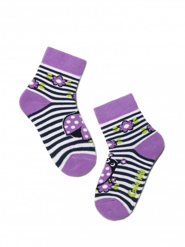Children's socks CONTE-KIDS SOF-TIKI, s.12, 246 lilac - 1