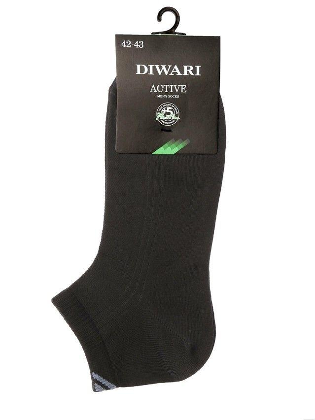 Men's socks DiWaRi ACTIVE, s. 40-41, 018 black - 2