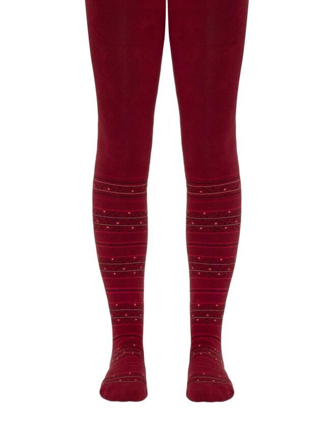 Children's tights CONTE-KIDS SOF-TIKI, s.140-146 (22),257 wine-coloured - 1