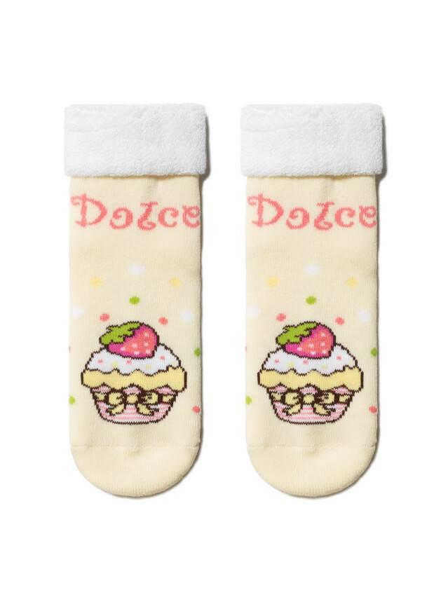Children's socks CONTE-KIDS SOF-TIKI, s.12, 245 cream - 1
