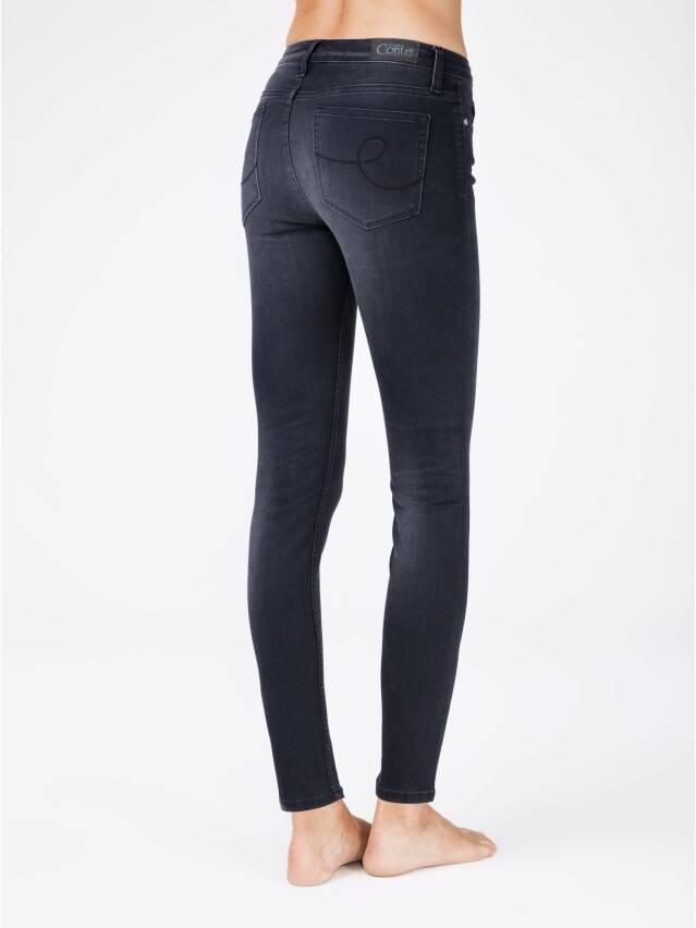 Denim trousers CONTE ELEGANT CON-97, s.170-102, black - 2
