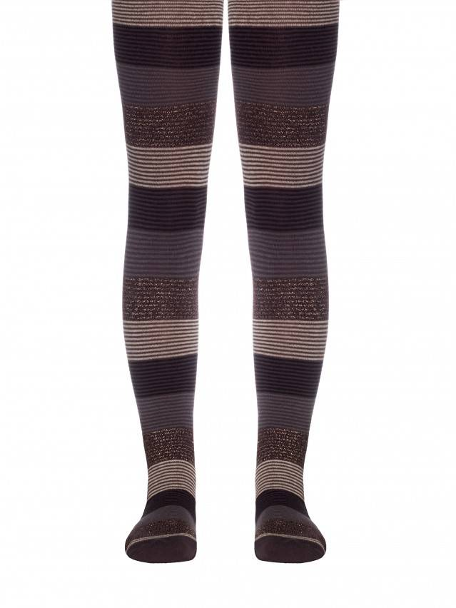 Children's tights CONTE-KIDS TIP-TOP, s.150-152 (22),407 chocolate - 1
