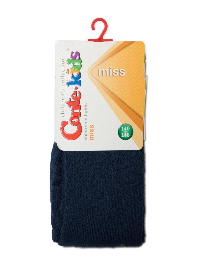 Children's tights CONTE-KIDS MISS, s.140-146 (22),273 navy - 2