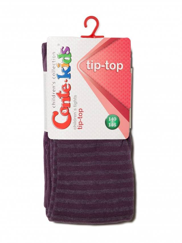 Children's tights CONTE-KIDS TIP-TOP, s.140-146 (22),350 aubergine - 1