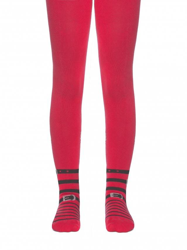 Children's tights CONTE-KIDS TIP-TOP, s.128-134 (20),411 raspberry pink - 1
