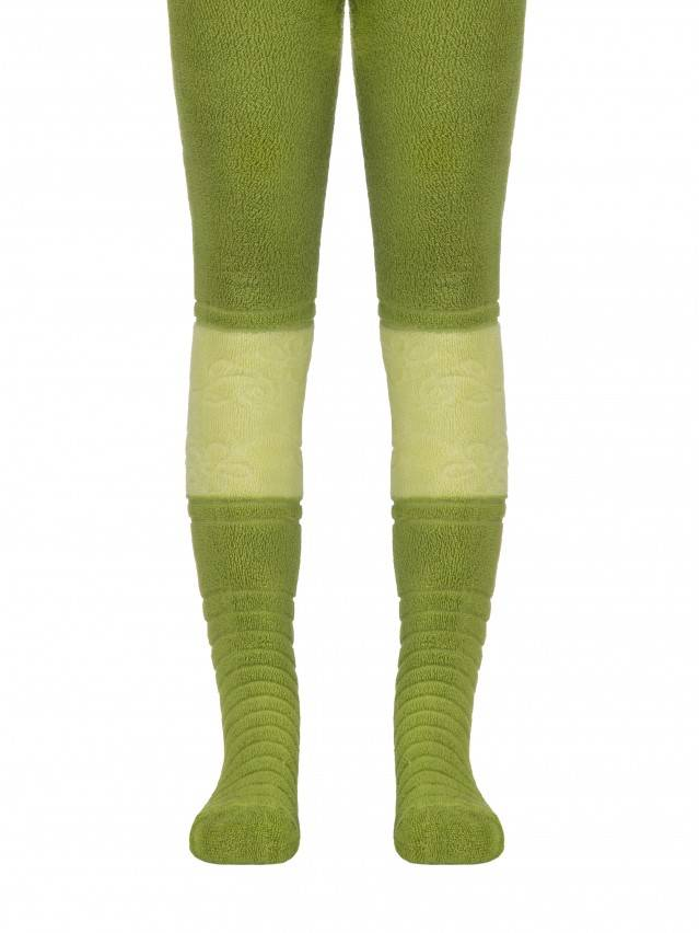 Children's tights CONTE-KIDS SOF-TIKI, s.92-98 (14),253 dark lettuce green - 1