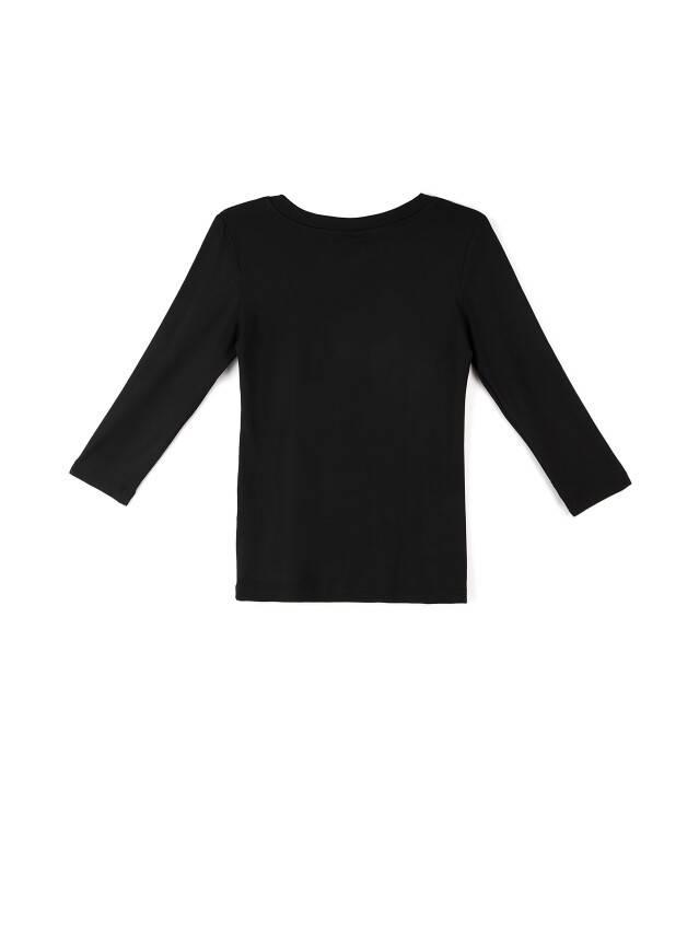 Women's polo neck shirt CONTE ELEGANT LD 478, s.158,164-100, black - 3