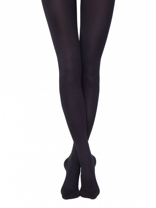 Warm cotton tights with lycra COTTON 450 Lycra® 1