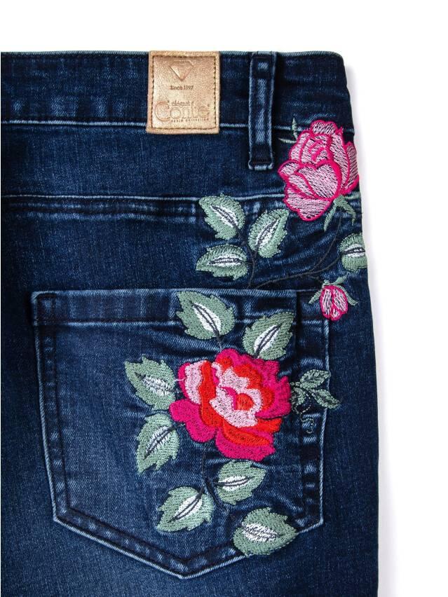 Denim trousers CONTE ELEGANT CON-53, s.170-102, navy - 8