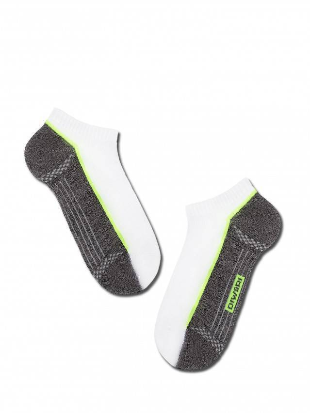 Men's socks DiWaRi ACTIVE, s. 40-41, 044 white-dark grey - 1