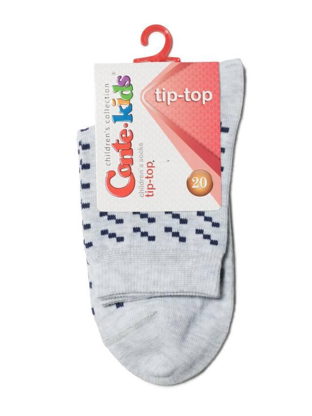 Children's socks CONTE-KIDS TIP-TOP, s.20, 207 light grey - 2