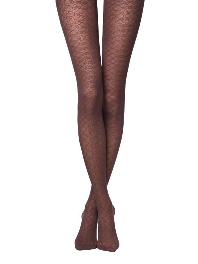 Women's tights CONTE ELEGANT ALLYSON, s.2, chocolate - 1