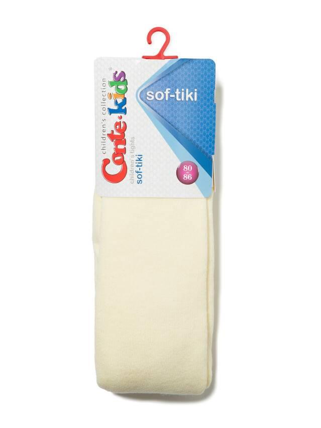 Children's tights CONTE-KIDS SOF-TIKI, s.62-74 (12),390 cream - 2
