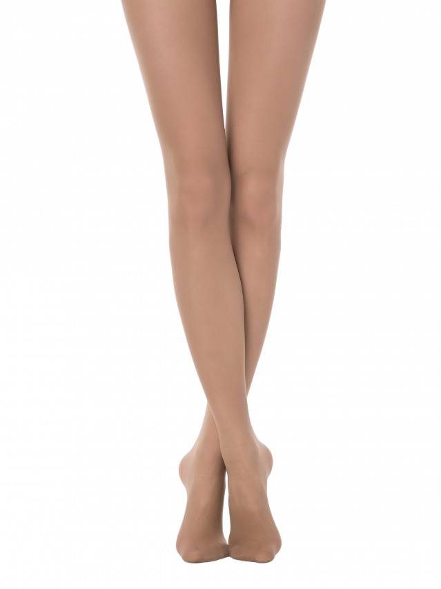 Women's tights CONTE ELEGANT TOP SOFT 40, s.2, natural - 1