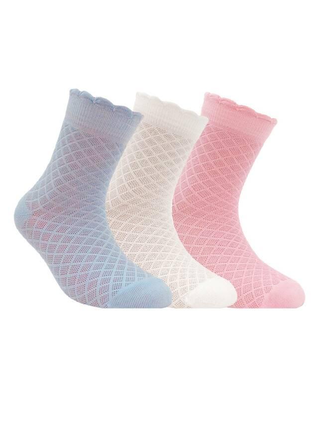 Children's socks CONTE-KIDS BRAVO, s.20, 187 light pink - 1