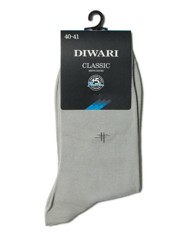 Men's socks DiWaRi CLASSIC, s. 40-41, 007 grey - 2