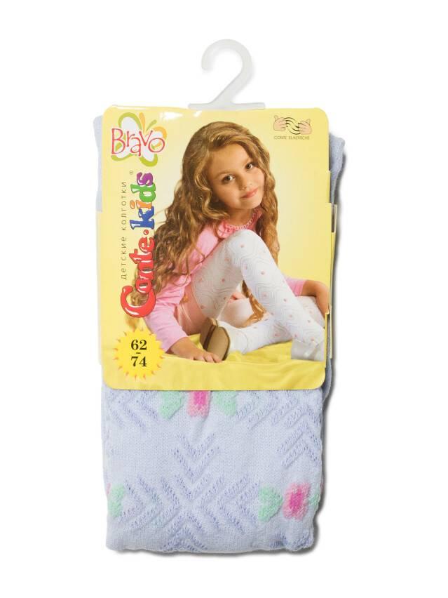 Children's tights CONTE-KIDS BRAVO, s.62-74 (12),216 pale violet - 1
