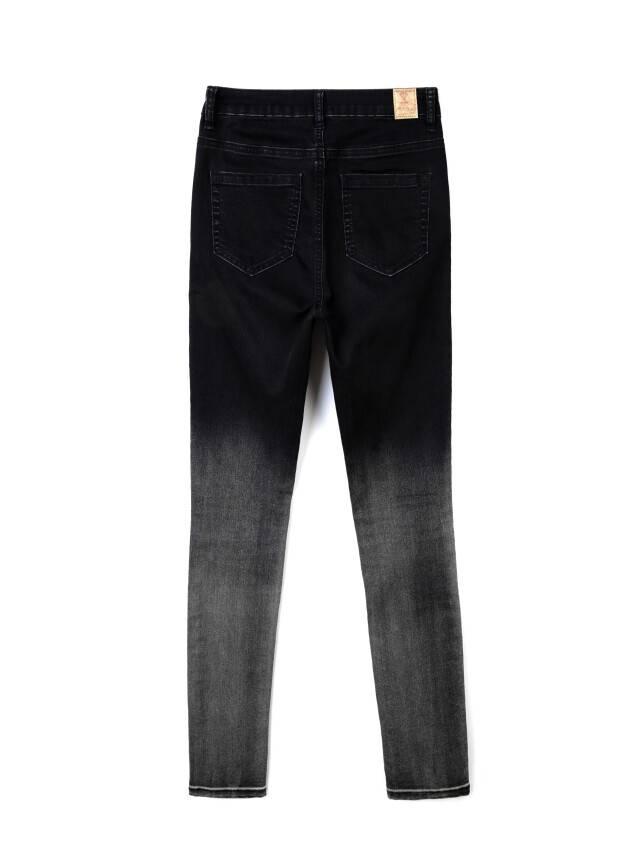 Denim trousers CONTE ELEGANT CON-57, s.170-102, black - 4