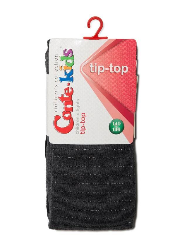 Children's tights CONTE-KIDS TIP-TOP, s.140-146 (22),412 black-dark grey - 2