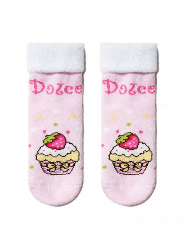 Children's socks CONTE-KIDS SOF-TIKI, s.12, 245 light pink - 1