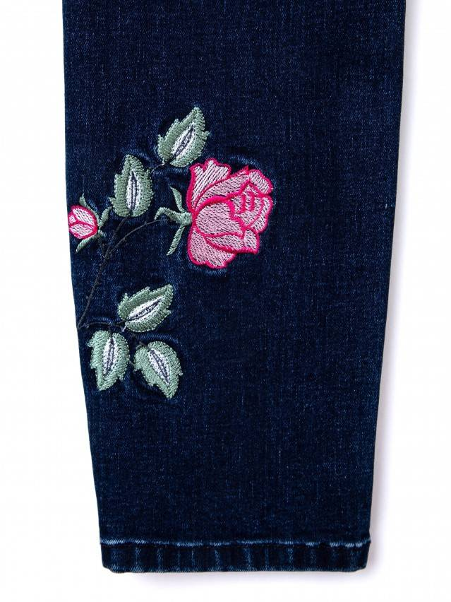 Denim trousers CONTE ELEGANT CON-53, s.170-102, navy - 9