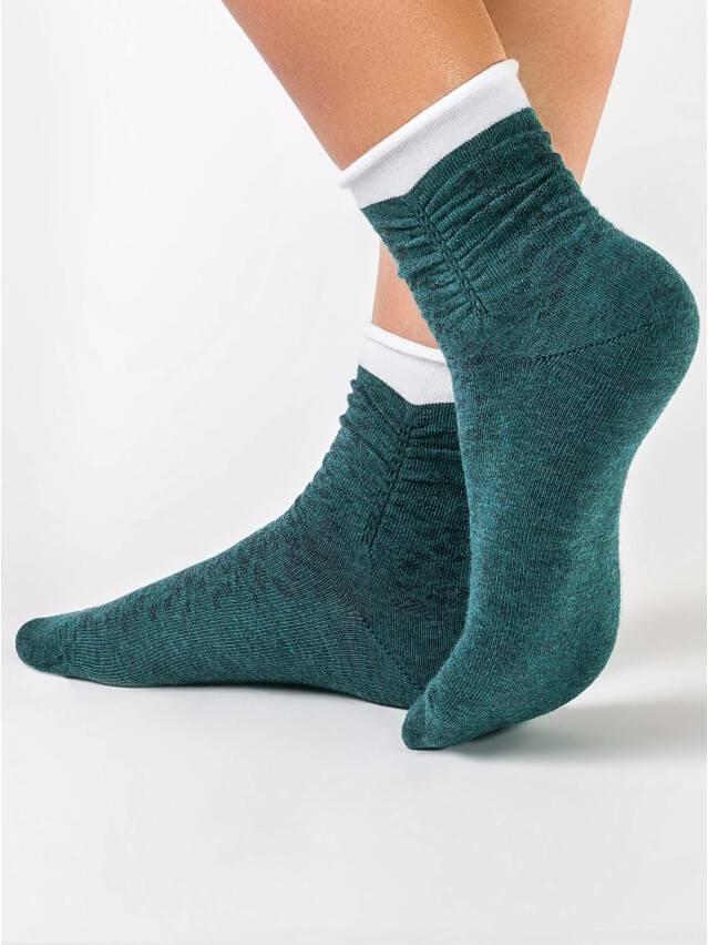Women's socks CONTE ELEGANT COMFORT, s.23, 048 dark turquoise - 1