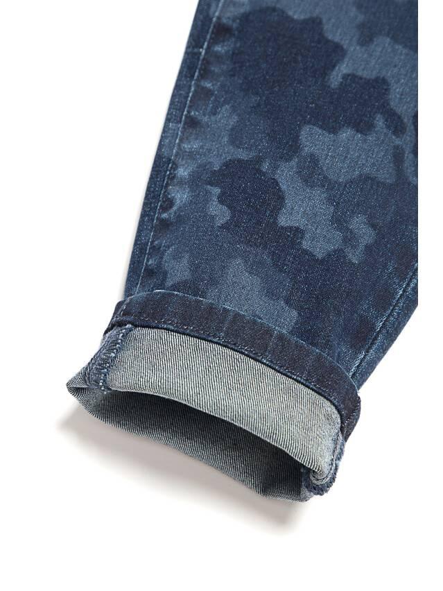 Denim trousers CONTE ELEGANT CON-93, s.170-102, navy - 8