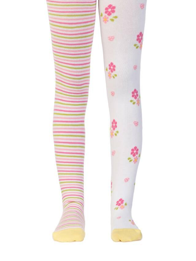 Children's tights CONTE-KIDS TIP-TOP, s.62-74 (12),357 white - 1