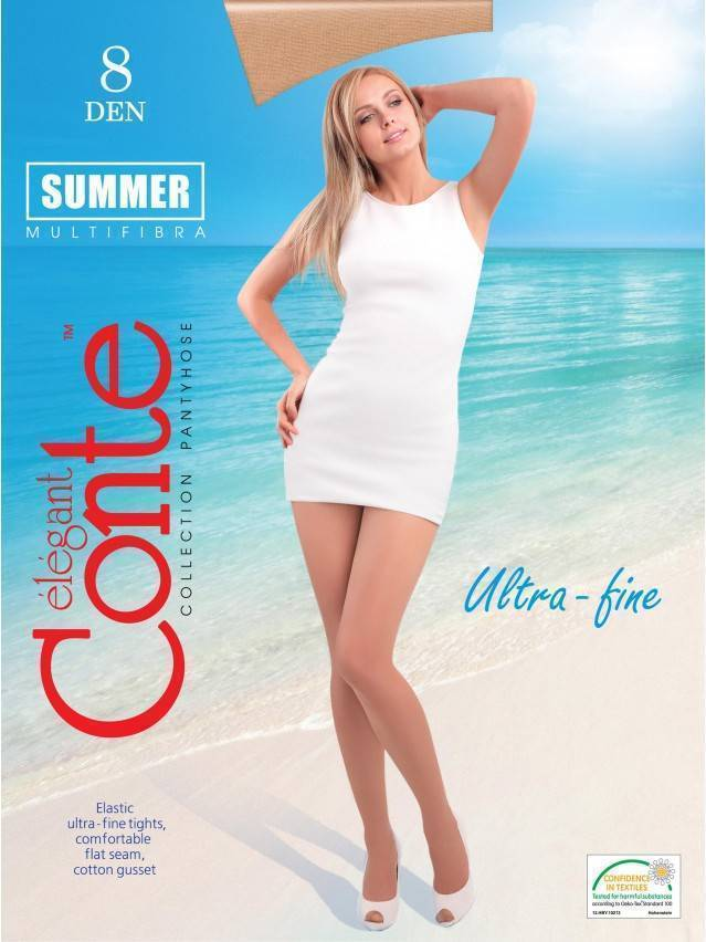 Women's tights CONTE ELEGANT SUMMER 8, s.2, shade - 1