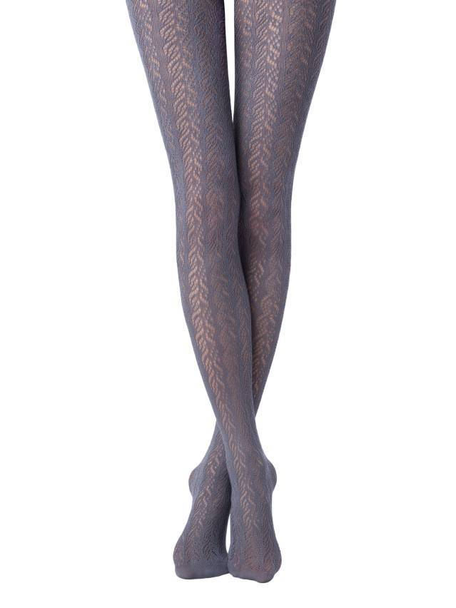 Women's tights CONTE ELEGANT EFFECT, s.2, fumo - 1