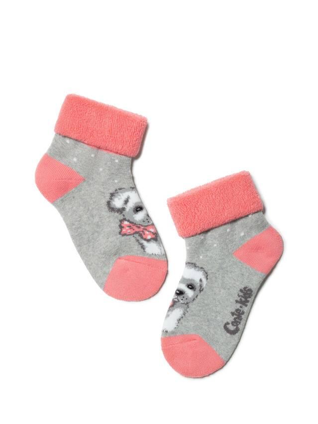 Children's socks CONTE-KIDS SOF-TIKI, s.12, 221 grey - 1