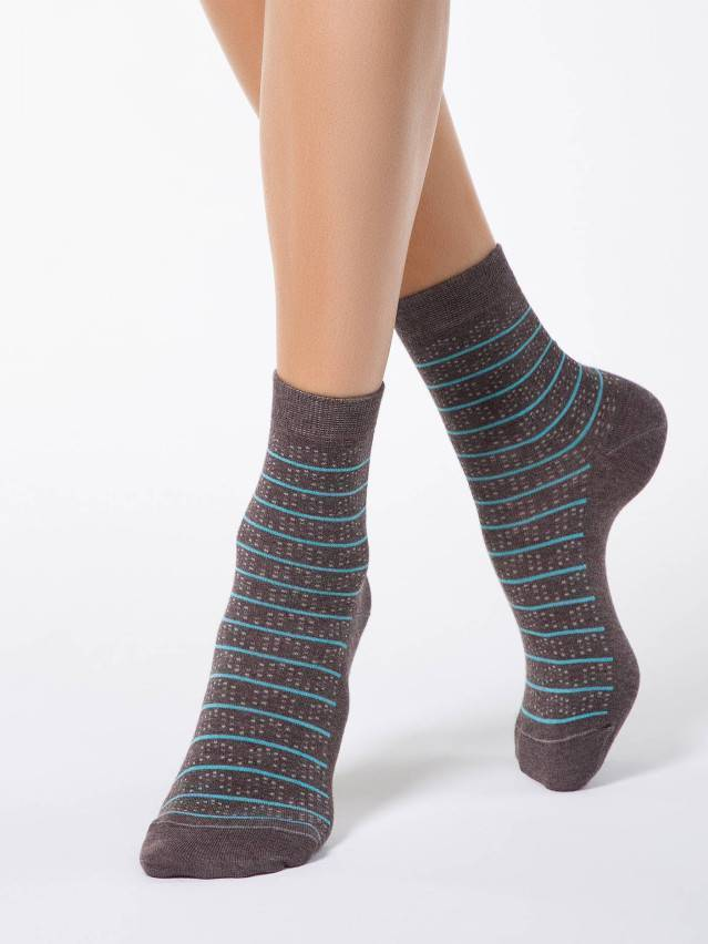 Women's socks CONTE ELEGANT COMFORT, s.23, 047 cacao - 1
